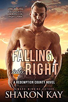 Falling Into Right by Sharon Kay