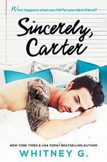 Sincerely, Carter by Whitney G