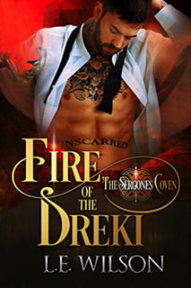 Fire of the Dreki by LE Wilson