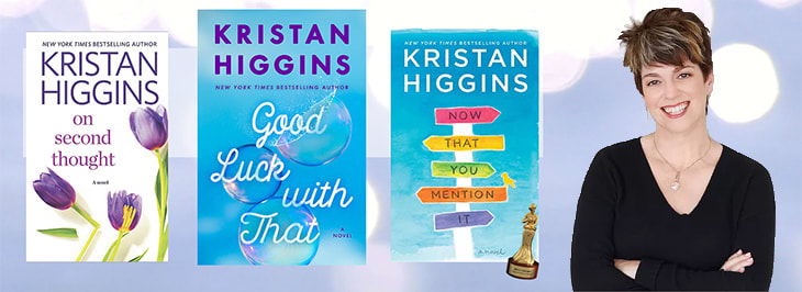 Authors on Authors: Book Recommendations from Kristan Higgins